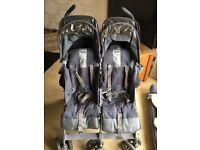 McLaren twin buggy, good condition, no rain over, £60