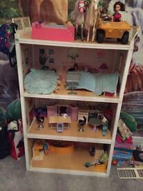 Vintage Sindy House 4 stories