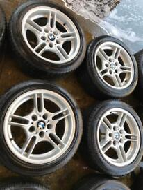 "17"" GENUINE BMW 5 SERIES MSPORT E39'ALLOY WHEELSV"