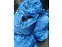 About 200 bags of soil and sand,-easy collection