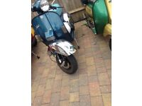 Vespa px 125 200 solid frame or non runner with v5