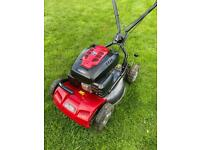 Mountfield multi clip self propelled mulch lawnmower great for clearing leaves fully serviced mower