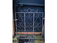2 x Black Iron Gates | For Sale