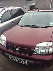 2004 NISSAN X-TRAIL FOR BREAKING ONLY, 2.2 DIESEL
