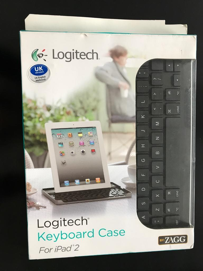 Genuine Logitech keyboard case - ipad 2
