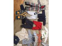 0-3 months boys clothes bundle 70+ items