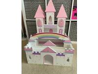 Children's wooden castle