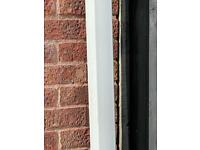 Wanted white squared guttering downpipe parts