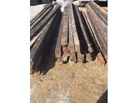 Shed Roof timbers