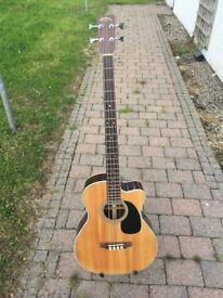 sigma electro acoustic guitar for sale
