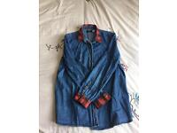 Urban outfitters denim shirt. Size medium.