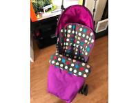 Mamas and Papas swirl pram pushchair stroller