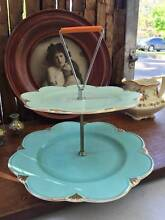 Vintage English Two Tiered Royal Winton Grimwades Cake Stand West Pymble Ku-ring-gai Area Preview