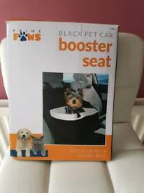Dogs booster car seat