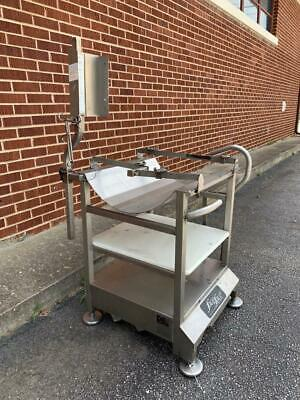 Face To Face Me Mobile Slicer Deli Buddy Stainless Steel Table Equipment Stand