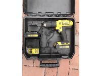 Dewalt drill 2 batteries 18v