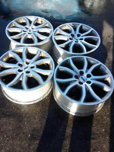 FORD FUSION 2012 FACTORY OEM 18 INCH ALLOY WHEELS IN EXCELLENT CONDITION. NO SENSORS