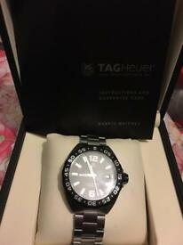 TAG Heuer F1 WAZ1110.BA0875 Men's Watch Used Black with Box bought in 2016