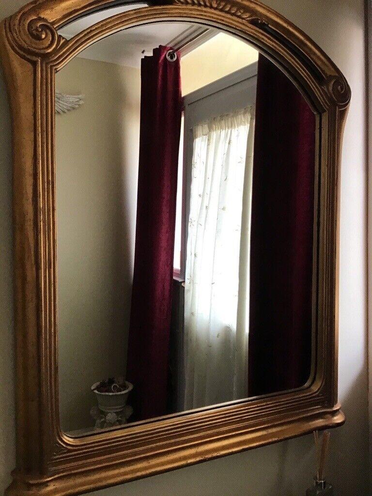 Gold Heavy Mirror In Ipswich Suffolk Gumtree