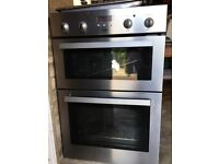 Zanussi Built in electric oven with separate gas hob