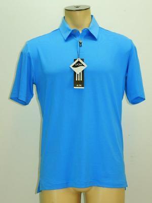 NWT$65 TaylorMade- Adidas Men Golf Apparel  UV Elements Tonal Stripe Polo