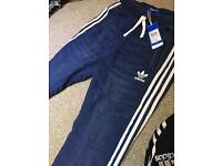 Men denim track bottoms