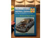 Haynes Vauxhall Astra/Zafira manual