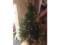 Pre lit Christmas tree 38 and half inches