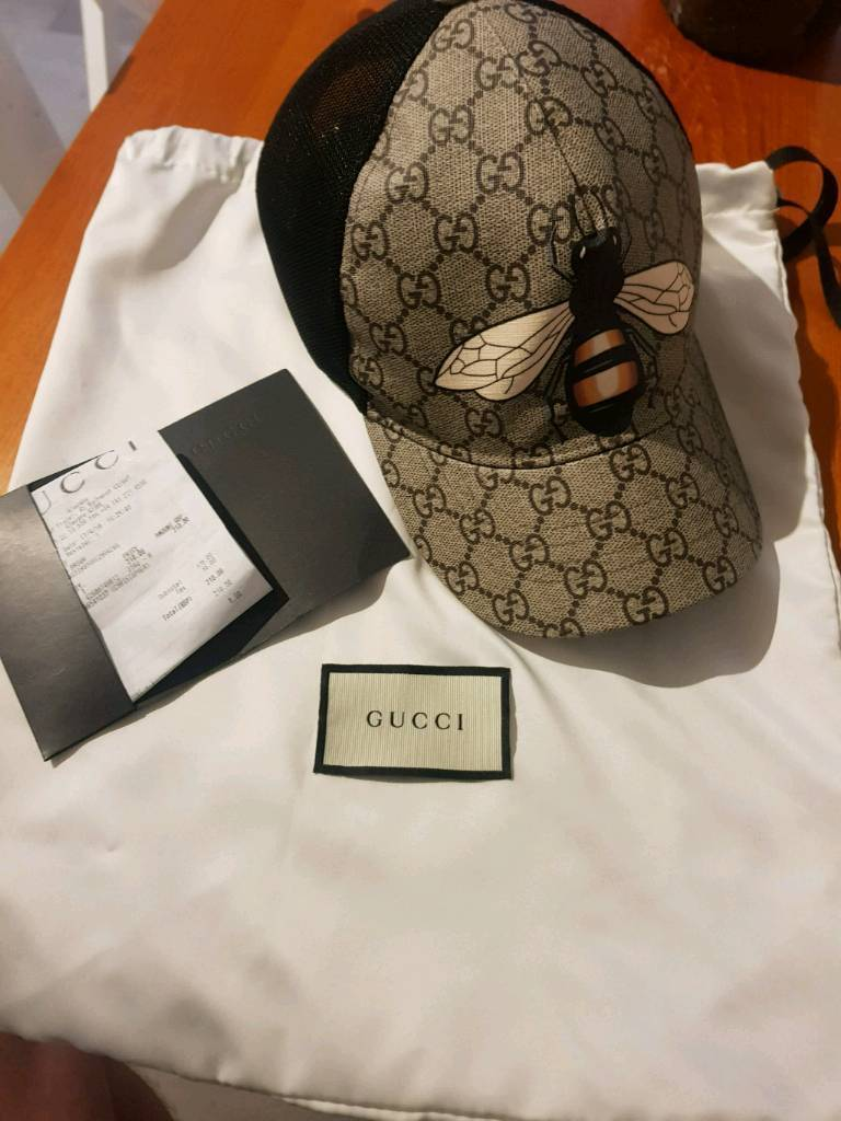 34464b57a696c2 Mens gucci hat bee print   in Irvine, North Ayrshire   Gumtree