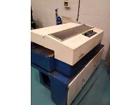 Soldamatic model 1200 industrial wave solder oven, single phase, leaded for mil spec or medical PCB