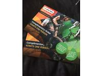 Two tickets to the cycle show Birmingham 22 to 24 September