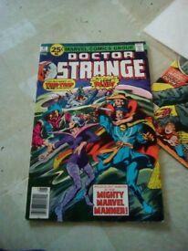 1970s doctor strang comic