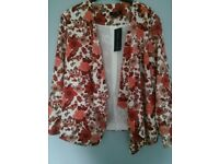 Blazer waterfall New Look size 14