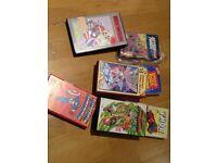 Classic Vintage VHS Tapes inc Thor, Captin America & Disney classics