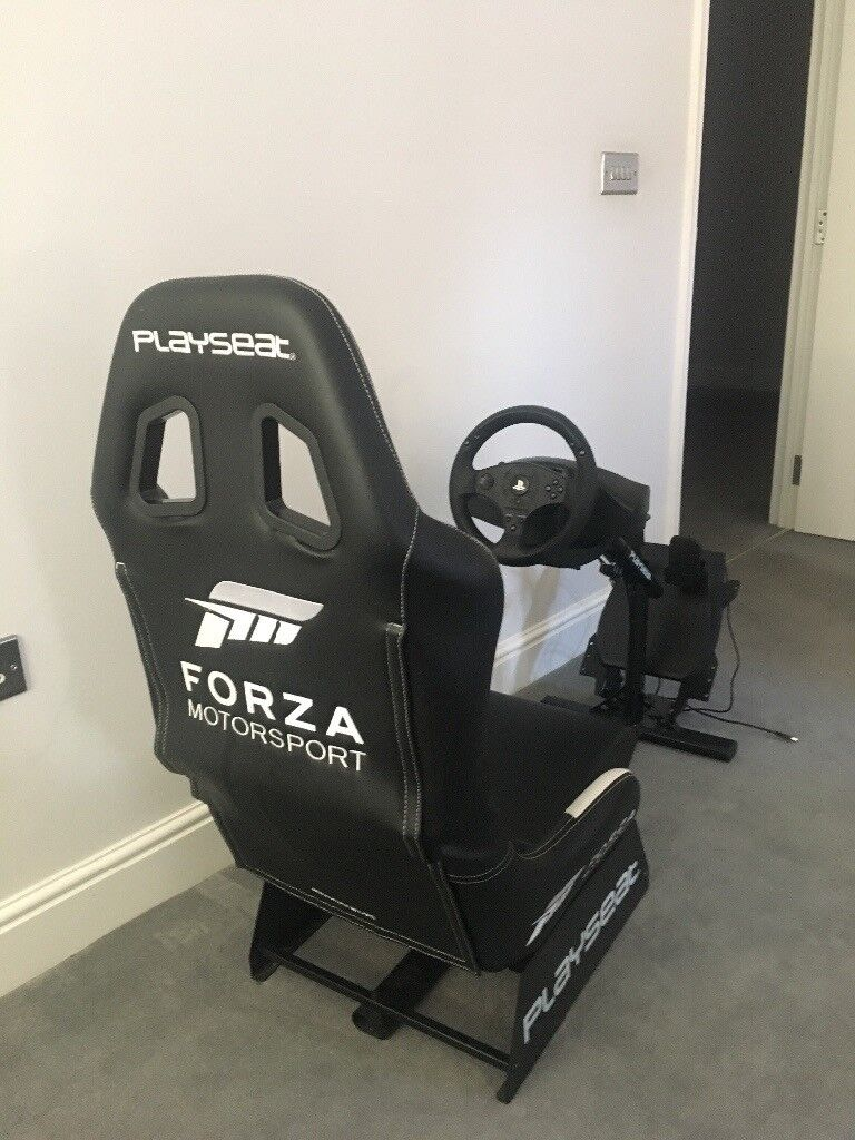 Super Playseat Gaming Chair Forza Motorsport Stee Ring Wheel Pedals Ps4 Xbox In Poole Dorset Gumtree Short Links Chair Design For Home Short Linksinfo