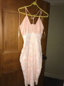 Pink boutique 8 worn once in good condition