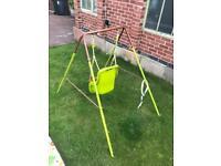 Garden baby swing