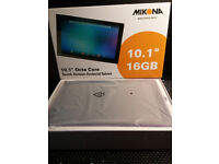 """Mikona 10.1"""" Octa Core Touch Screen Android 16GB Tablet (unwanted gift) as new"""