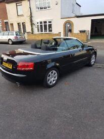 Audi A4 1.8T Cabriolet 2007 Petrol