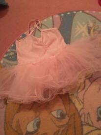 Girls ballet leotard with tutu age 3-4