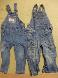 Boys Dungaree Sets Age 2-3 years