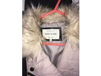 Size 8 cream coat