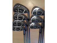 CALLAWAY Epic CF17 - Men's Golf Irons 5-PW + AW R/H *VGC*