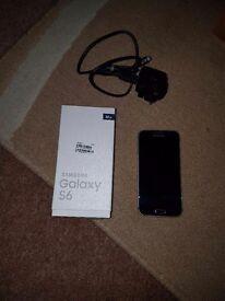 Samsung Galaxy S6 32g in black