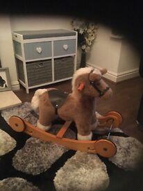 Toddlers rocking horse.