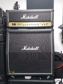 Marshall 1960 Lead Amp 4x12 Angled