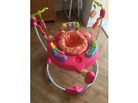 Baby Girls Fisher Price Pink Petals Jumperoo - RRP: £119