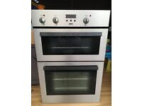 Zanussi Chrome Electric Double Oven (59cm wide)