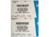 Stone roses tickets Leeds standing x2 weds 21st