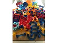 Galt marble run includes 1 x mega run and 2 x super glow in the dark runs with extra marbles